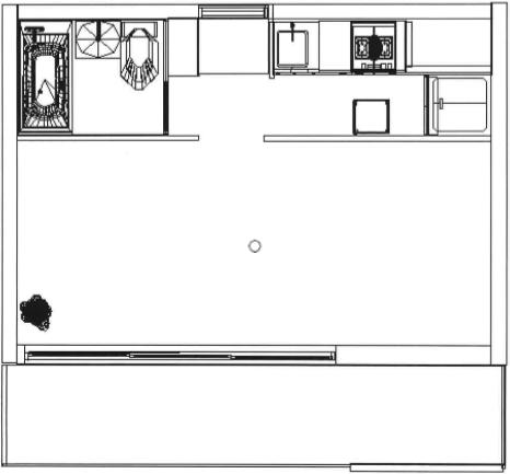 居室間取り図